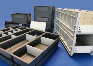 Mit neuen Teilen aus altem Kühlschrankmaterial will Klaus den Kreislauf schließen. (Foto: Klaus Kunststofftechnik)