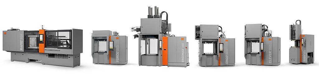 Das aktuelle Standard-Maschinenprogramm bietet zahlreiche Optionen für Hersteller von Elastomerteilen. (Foto: Maplan)