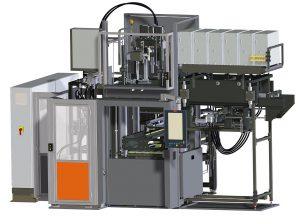 Zweikomponenten-Gummispritzgießmaschine Multi+ 2K Split-line. (Foto: Maplan)