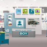 Boy-Messestand auf dem virtuellen Technologietag. (Abb.: Dr. Boy)