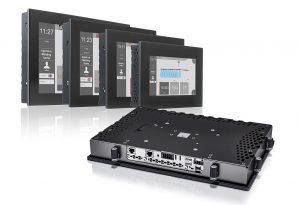 Das Power Panel C80 vereint die Vorteile einer leistungsstarken Steuerung und eines modernen Bedienterminals in einem Gerät. (Abb.: B&R)