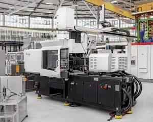 IntElect S von Sumitomo (SHI) Demag im Versuchsfeld des Fraunhofer IPK. (Foto: Fraunhofer IPK / Andy King)