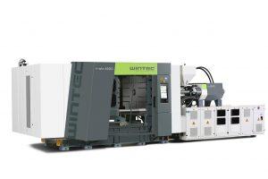 Die hydraulischen Spritzgießmaschinen t-win bieten hohe Produktivität, niedrigen Energieverbrauch und kompaktes Design. (Foto: Wintec)