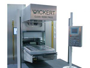 Wickert ist nach eigenen Angaben Weltmarktführer für Reinraum- und Pharmapressen. (Foto: Wickert)