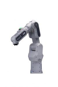 Swifit ist ein schneller und präziser kollaborativer Industrieroboter mit einer Geschwindigkeit von 5 m/s und einer Traglast von 4 kg. (Foto: ABB)