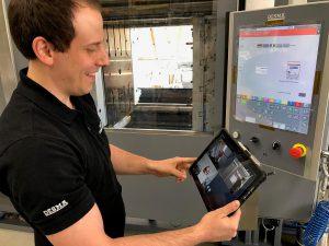 Seit einem guten Jahr können Neumaschinen digital abgenommen werden. (Foto: Desma)