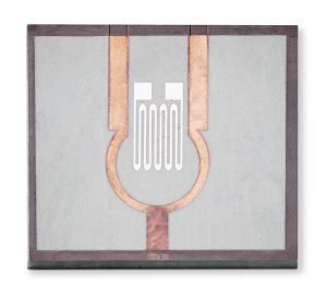 Für die Herstellung dieses Wirbelstromsensors im LDS-Verfahren kommt Tecacomp PEEK LDS grey zum Einsatz. Diese Entwicklungstype erfüllt besonders hohe Oberflächenanforderungen. (Foto: Ensinger/IMPT)
