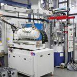 Die eingesetzten CXL160-Maschinen verfügen über ein vollelektrisches Aggregat in L-Anbindung. (Foto: KraussMaffei)
