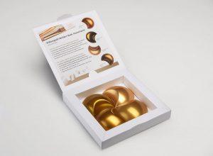 In Anlehnung an natürliche Gold-Vorkommen ist die Brillantgold-Serie in vier Nuancen verfügbar. (Foto: Lifocolor)