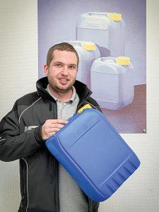 Hauke Grabau, Verantwortlicher für den Bereich Recycling bei AST. (Foto: Lindner)