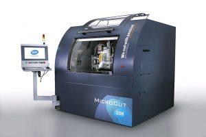 Die MicroCut-Anlage bietet gute Voraussetzungen für das Mikro-Wasserstrahlschneiden. (Foto: STM)