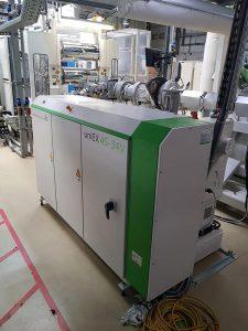 Die Baureihe uniEX stehen jetzt auch Folien- und Plattenextrusionsanlagen bereit. (Foto: battenfeld-cincinnati)
