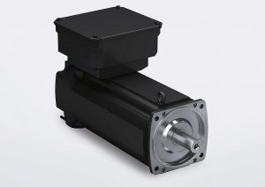 Mit den DSD2-100 Servomotoren in der neuen Baulänge bietet Baumüller jetzt Spitzendrehmomente bis 400 Nm mit guten Beschleunigungseigenschaften im Paket. (Foto: Baumüller)