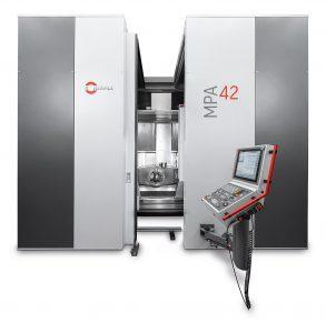 Die MPA 42 verbindet den additiven Materialaufbau mit hochpräziser Zerspanung. (Foto: Hermle)