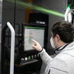 Die Bead.Machine hat eine intuitive Bedienoberfläche. (Foto: Hofmann)