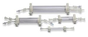 Für die Schaugläser kommen zwei PSU-Werkstoffe zum Einsatz. (Foto: Solvay)