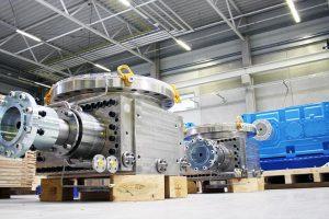 Für den Prozess kommen kraftvolle Pumpen mit einem hohen Volumenstrom zum Einsatz. (Foto: Witte)