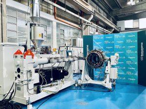 Bausano hat seine Rohrextrusionsanlagen überarbeitet. (Foto: Bausano)