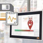 Wenn sich der Zustand von Speichermedien verschlechtert, kann dies zu Datenverlusten führen. Durch eine frühzeitige Erkennung lässt sich ein Gerät ersetzen, noch bevor es ausfällt. (Abb.: B&R)