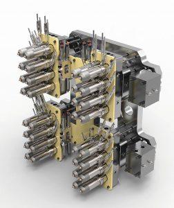 Zum Einsatz kommt ein 32fach-Nadelverschluss-System. (Foto: Günther)