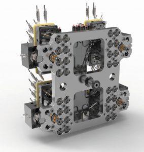 Die Bewegung der Nadeln erfolgt über den Hubplattenantrieb ANEH. (Foto: Günther)