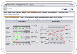 Zusammen mit dem ComoNeoPredict kann die Statistiksoftware Stasa QC die zu erwartenden Qualitätsmerkmale direkt an der Maschine bestimmen, ohne sie tatsächlich zu messen. (Abb.: Kistler)