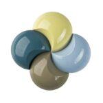Beruhigende Blau- und Grünimpulse kennzeichnen die Farbwelt Elements. (Foto: Lifocolor)