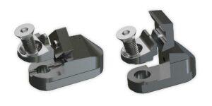 Messer und Messerhalter des Mono-Fix-Systems lassen sich frei am Rotor positionieren und mit nur einer Schraube wechseln. (Foto: Lindner)
