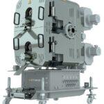 Der neue Hochleistungsschmelzefilter Eco 500 erreicht Durchsätze bis zu 4.000 kg/h. (Foto: Ettlinger)