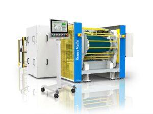Die Rotationspresse Auma sorgt für gleichbleibende Produktionsbedingungen: Temperatur, Druck und Verweilzeit. (Foto: KraussMaffei)
