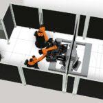 Kuka: Roboterapplikationen realistisch simuliert