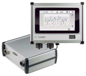 Das mobile D-System ist ein flexibel nutzbares Messgerät zur In-Situ-Analyse des Energiehaushalts verfahrenstechnischer Wasserzyklen. (Foto: Hotset)