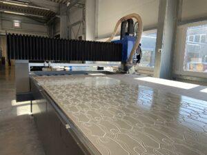 Die CNC-Fräsmaschine Witec (32) im Einsatz bei Perpedes: ein perfektionierter Prozess. (Foto: Hufschmied)