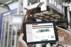 Die digitale Service-Plattform unterstützt Anwender auf dem Weg zur Industrie 4.0. (Foto: Illig)