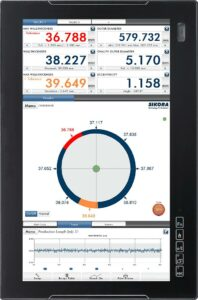 Am Ecocontrol werden die Messwerte angeschlossener Messgeräte visualisiert. (Abb.: Sikora)