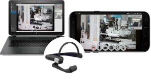 Sicherer Fernsupport per Klick: smartAssist als Desktop-, Smartphone- und Tablet Applikation. (Foto: KraussMaffei)