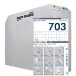 Sortierung und Online-Inspektion von Kunststoffgranulaten ermöglicht der Purity Scanner Advanced. (Foto: Sikora)