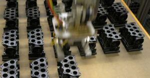 Weiss fertigt unter anderem dieses komplexe Gehäuse zur Niveauregulierung Nutzfahrzeugen. (Foto: Weiss)