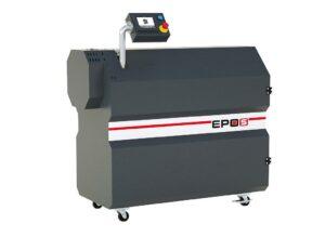 Der kompakt aufgebaute Pyrolyseofen Epos eignet sich insbesondere für die Reinigung von Extruderschnecken. (Foto: Econ)