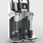 Das neue LSR-Dosiersystem Smartmix Top 7000 Pro benötigt nur eine geringe Aufstellfläche. (Foto: Elmet)