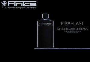 Fibaplast NIR detectable Black Masterbatche sind rußfrei und machen Verpackungen fit für die NIR-Sortierung. (Foto: Finke)