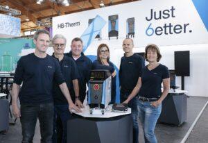 HB-Therm stellt auf der Fakuma 2021 erstmals die neu entwickelten Temperiergeräte der Series 6 vor. (Foto: K-AKTUELL.de)