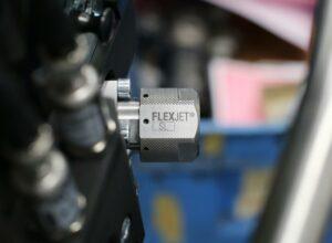 Federbelastete Variante der Gleichdruckdüse Flexjet SL. (Foto: Hennecke)