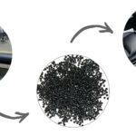 Reine Post-Industrial-Abfallströme aus der Produktion von Kunststoffteilen werden in Dryflex Circular TPE-Materialien für Anwendungen im Automobilinnenraum eingearbeitet. (Foto: Hexpol TPE)