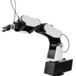 HORST steht für Highly-Optimized-Robotic-Systems-Technology und ist die Mischung eines herkömmlichen Industrieroboters und Cobots. Im Bild HORST600, der auch auf der Spritzgießmaschine zur Bauteilentnahme platzierbar ist. (Foto: Nonnenmann)