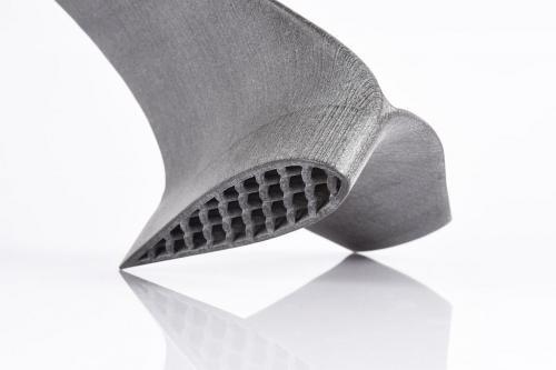 Additiv gefertigtes Bauteil als Design-Studie. (Fotos: EOS)